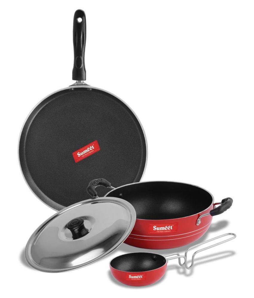 Sumeet HarkinNonstick 4 Piece Cookware Set