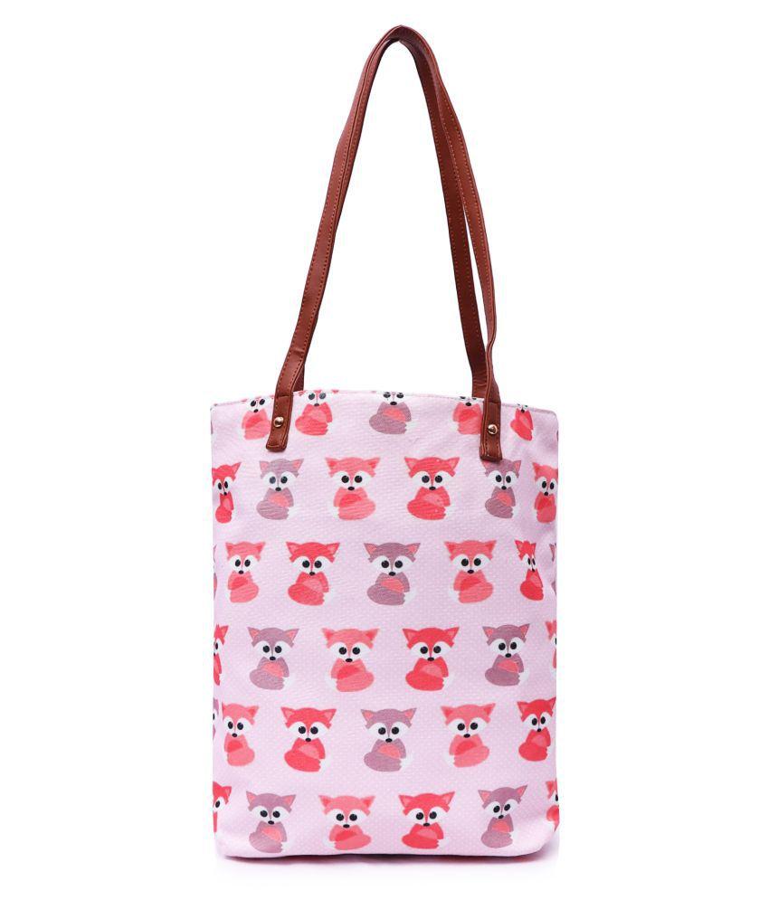 MARISSA BAG Pink Canvas Handheld