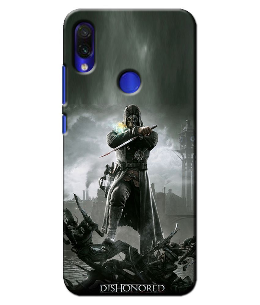 Xiaomi Redmi Note 7 Pro Printed Cover By Case king 3D Printed Cover