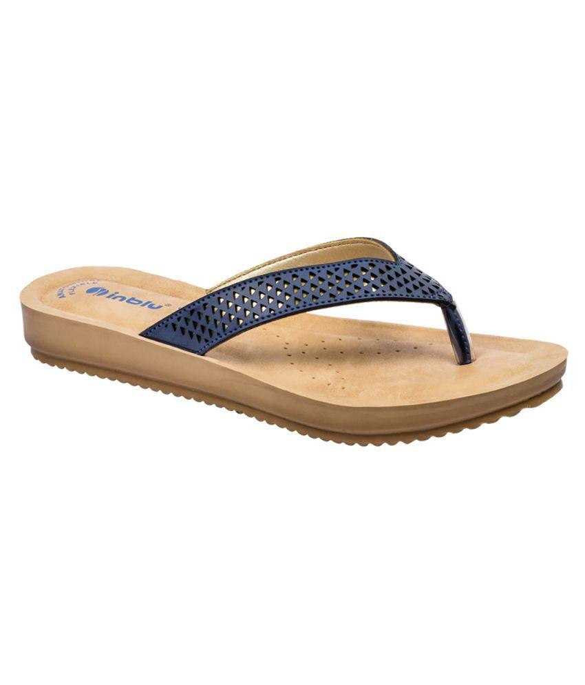 Inblu Blue Flats
