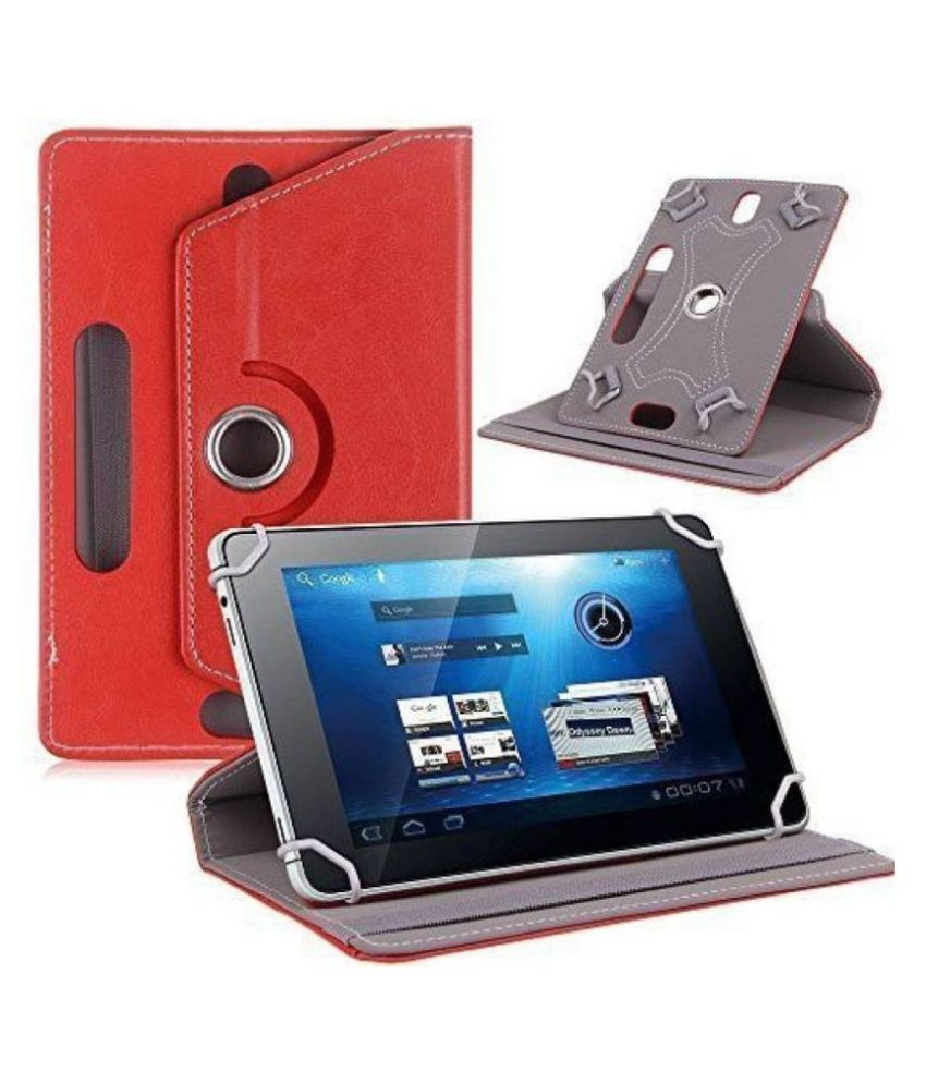 Iball Slide Wondro 10 Flip Cover By Cutesy Red