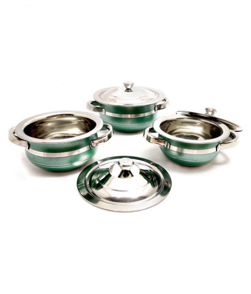 Mahavir 3 Piece Cookware Set