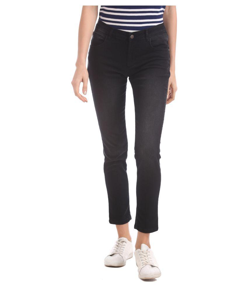 Cherokee Cotton Jeans - Black
