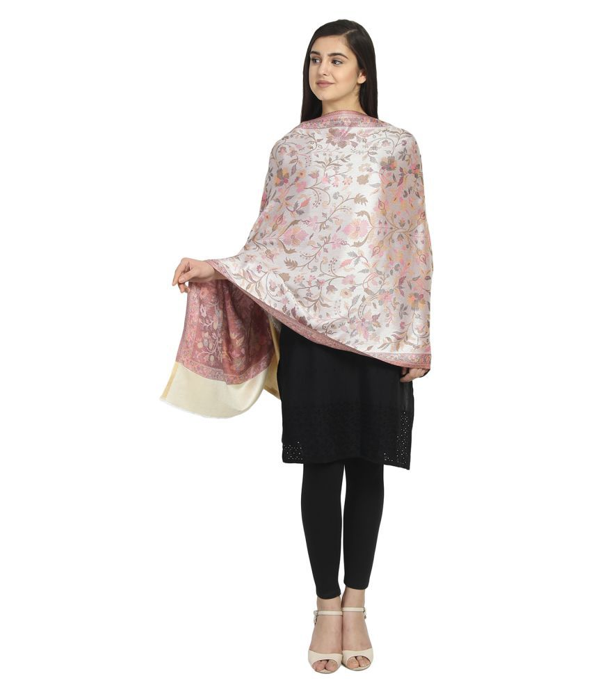 Anekaant Multicoloured Floral Shawl