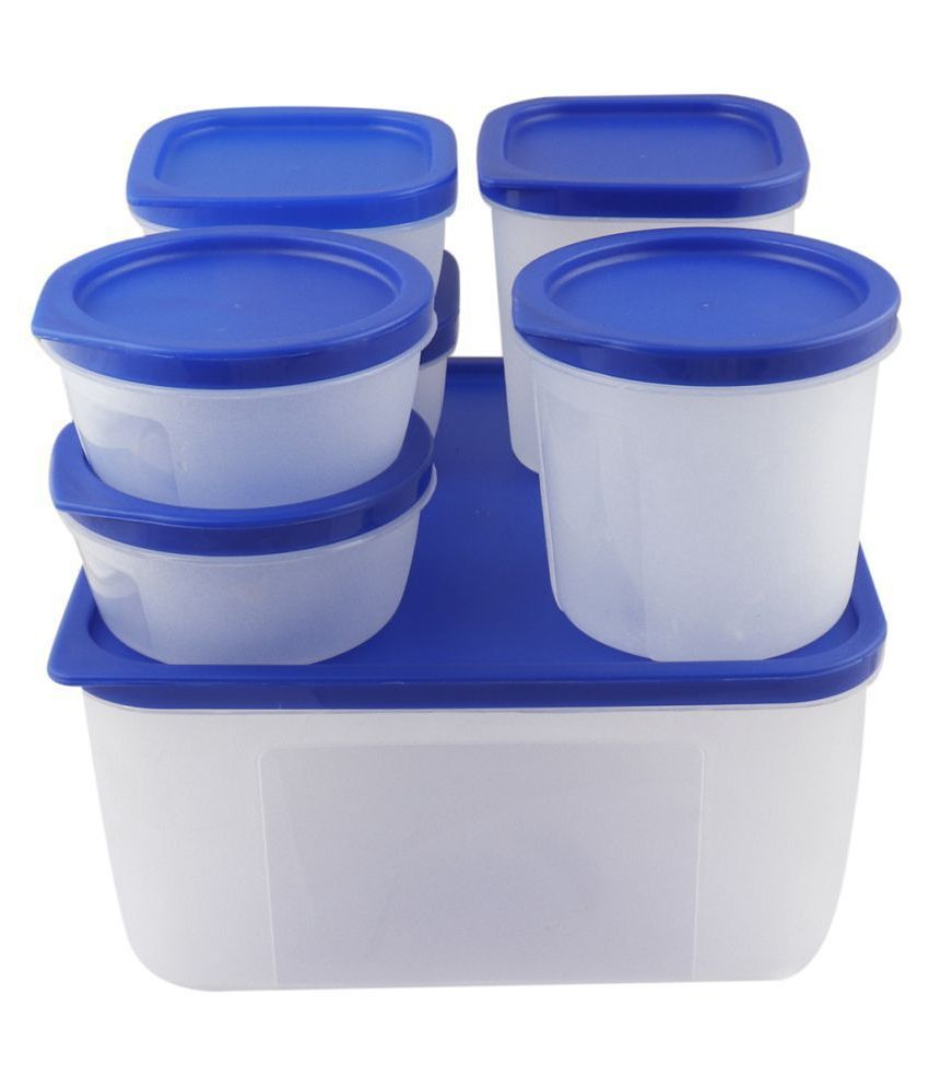 PNP Kitchen Utility Polyproplene Food Container Set of 7 500 mL