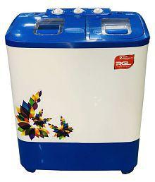 RGL 6.8 Kg SA68BW Semi Automatic Semi Automatic Top Load Washing Machine