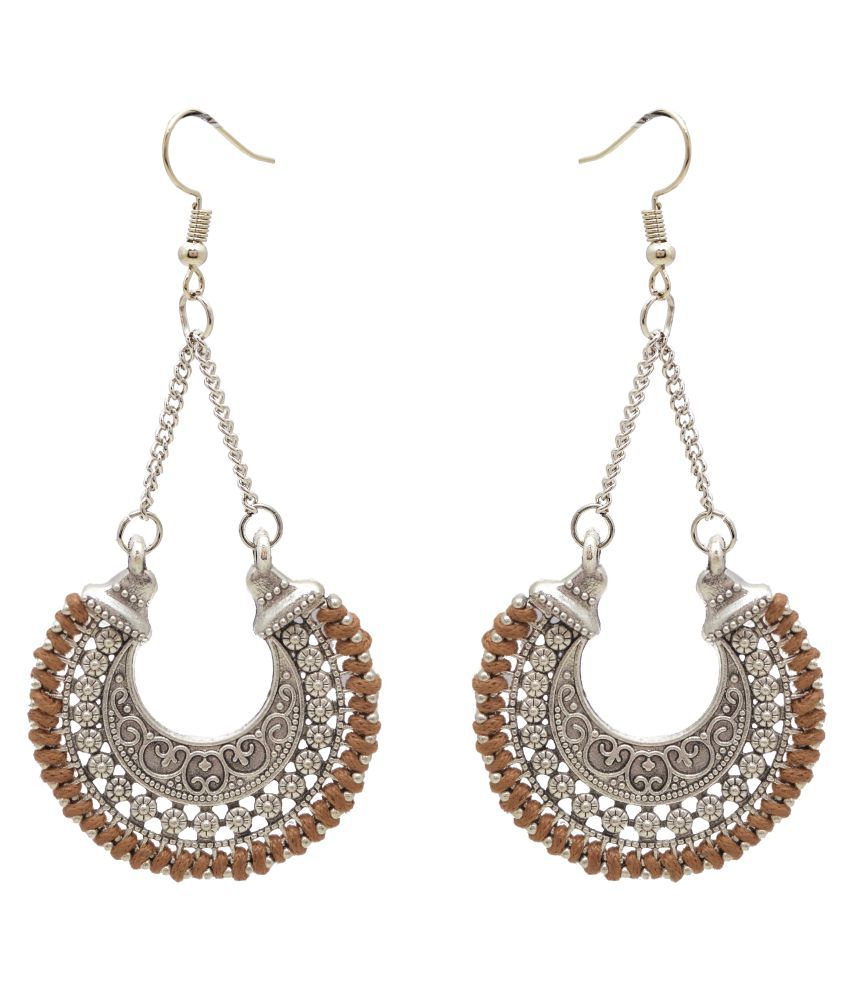 Jewelz Gorgeous Silver Coloured Earrings