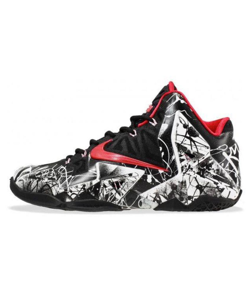 Nike LEBRON 12 'GRAFFITI' Black