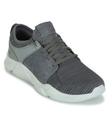 Skechers DRAFTER-WELLMONT Gray Running Shoes