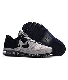 NIKE 2017 AIRMAX Gray Running Shoes