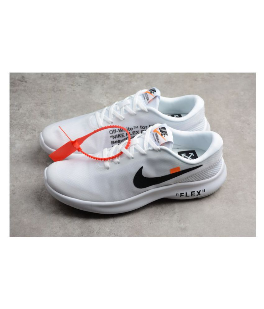 Nike Flex Experience Rn 8 White Running
