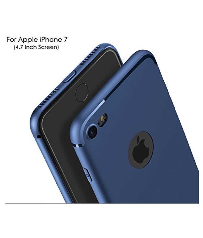 Apple iPhone 7 Soft Silicon Cases Wow Imagine   Blue