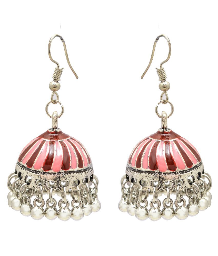 Jewelz Elegant Jhumka Drop Earrings