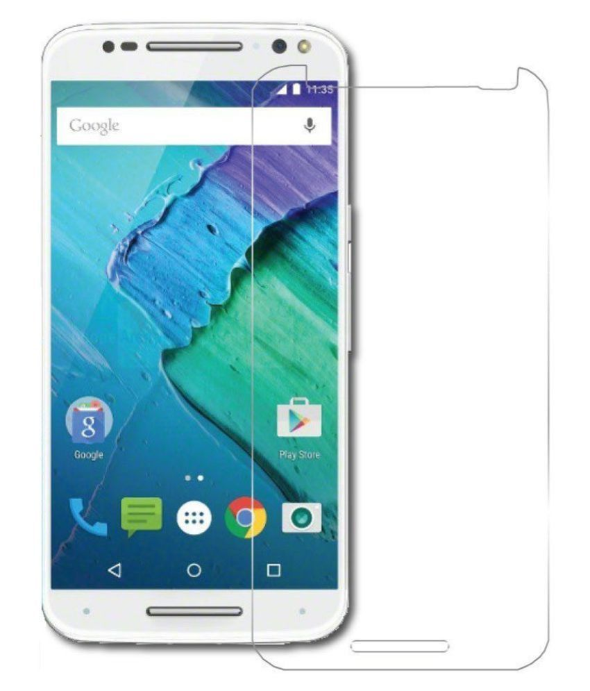 Motorola moto X style Tempered Glass Screen Guard By Spectacular Ace