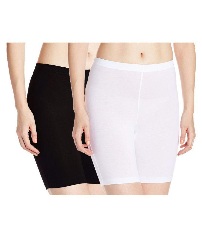 THE BLAZZE Cotton Lycra Boy Shorts