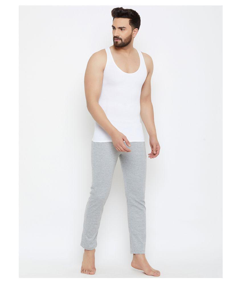 C9 Airwear White Sleeveless Vests Single