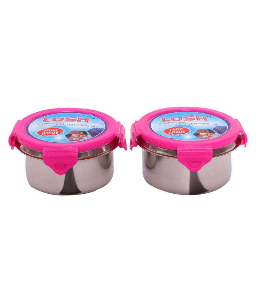 LUSH Steel Food Container Set of 2 200 mL