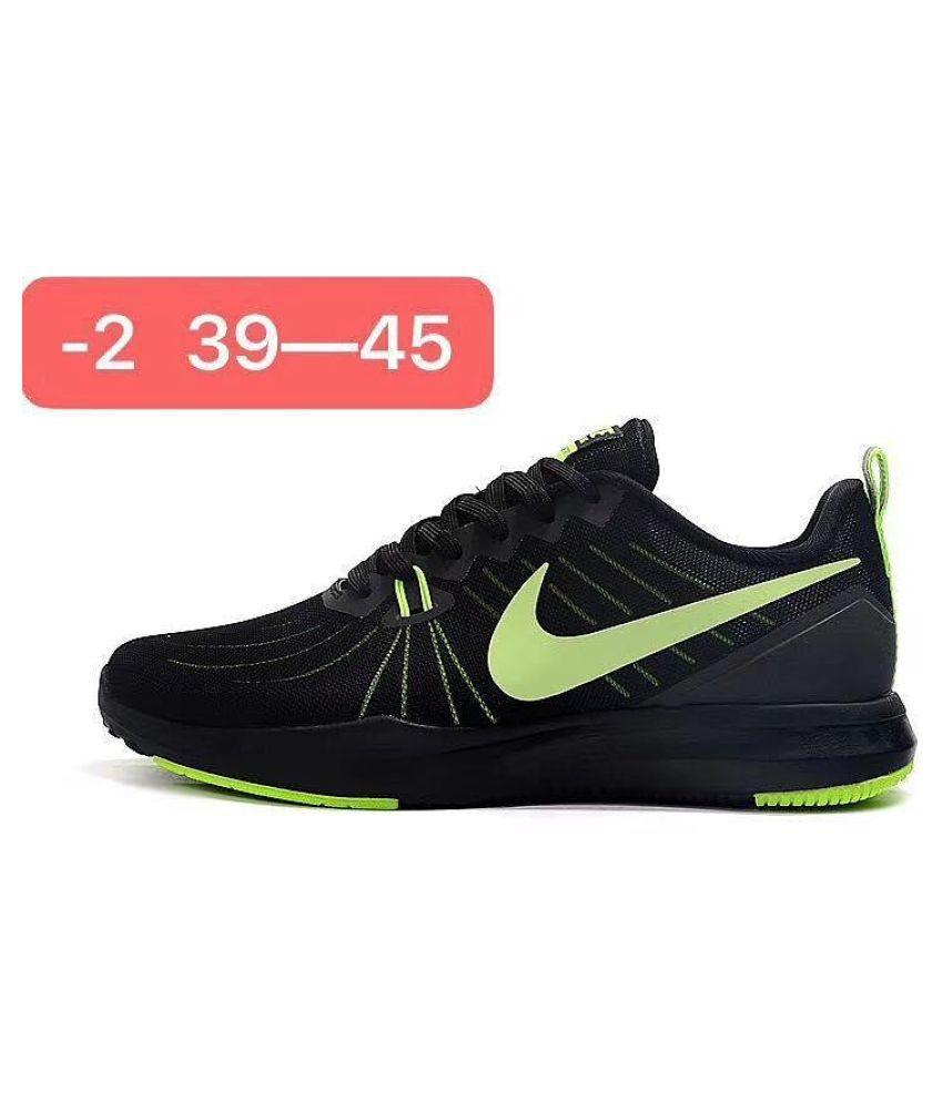 SEASON TR 7 Black Training Shoes
