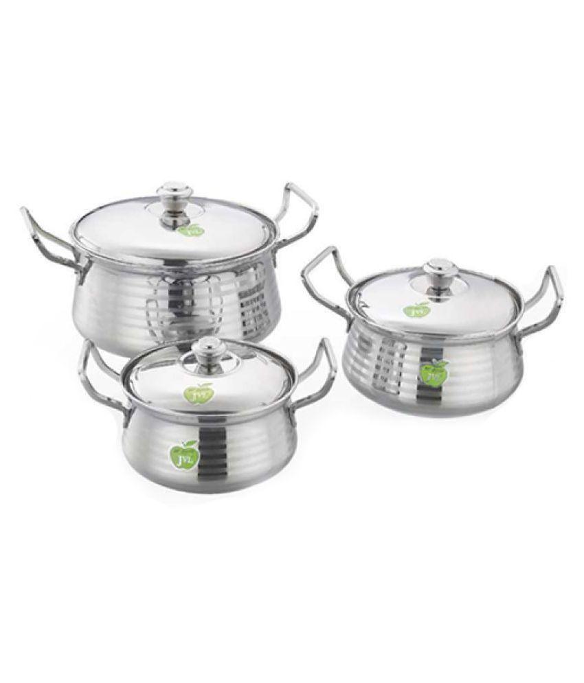 JVL 3 Piece Cookware Set