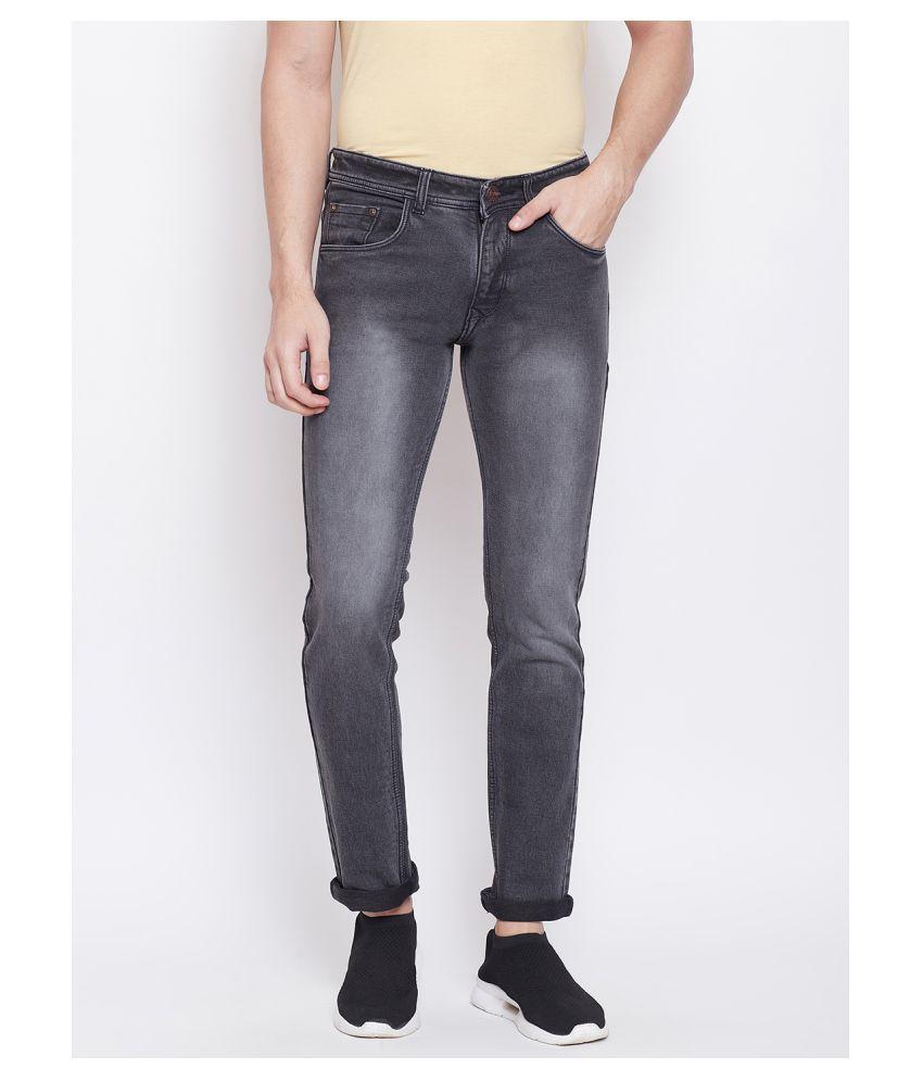 Duke Grey Regular Fit Jeans