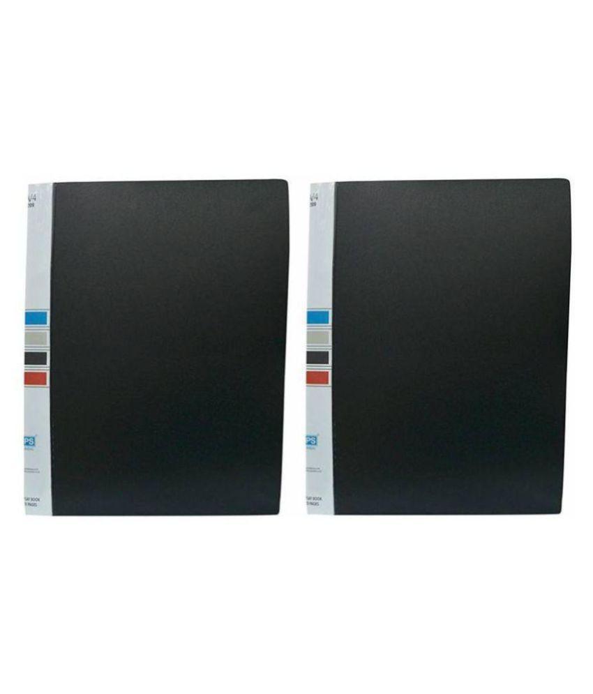 Helloperfect NA File Folder  (Set Of 2, Black)