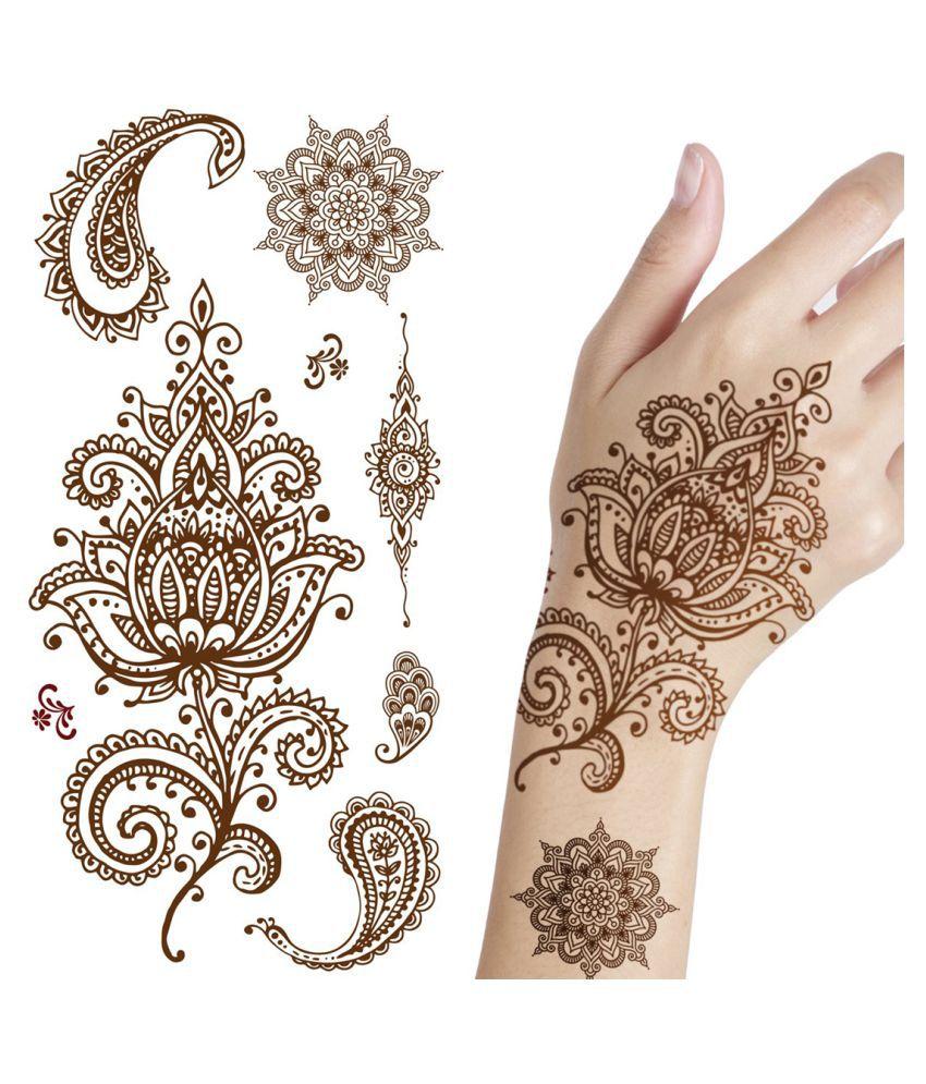 Ordershock Mehndi Design Karva Chauth Special Waterproof Temporary Body Tattoo Buy Ordershock Mehndi Design Karva Chauth Special Waterproof Temporary Body Tattoo At Best Prices In India Snapdeal