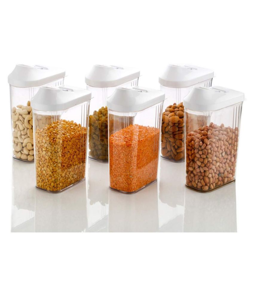 HAVLOK Polyproplene Food Container Set of 6 750 mL