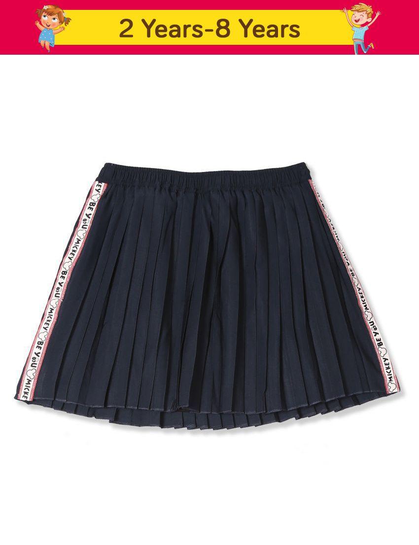 Colt Blue Girls Pleated Flared Skirt