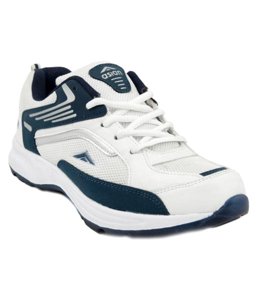 Asian Shoes White Running Shoes