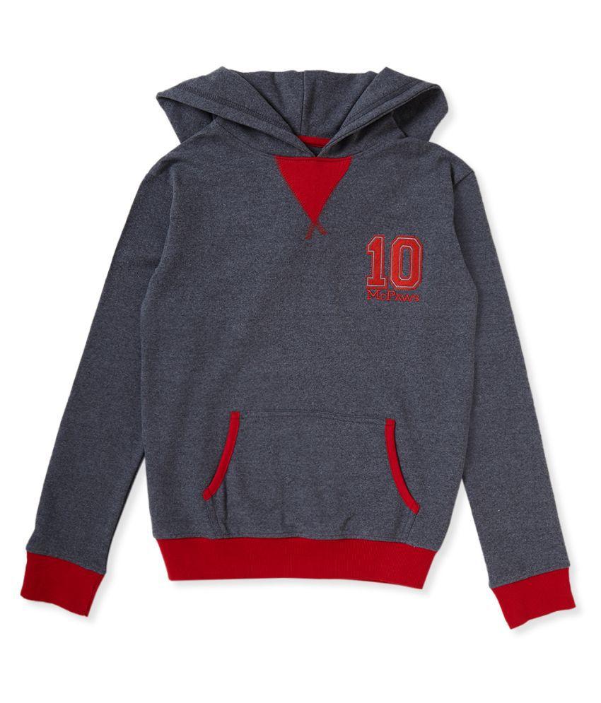Cub McPaws Boys' Hooded Sweatshirt 4 to 12 Years