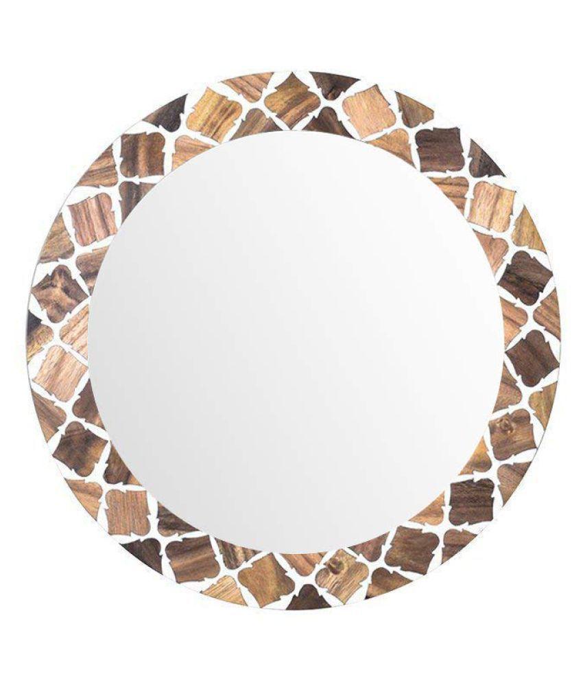Casa Decor Mirror Wall Mirror Multi ( 35 x 5 cms ) - Pack of 1
