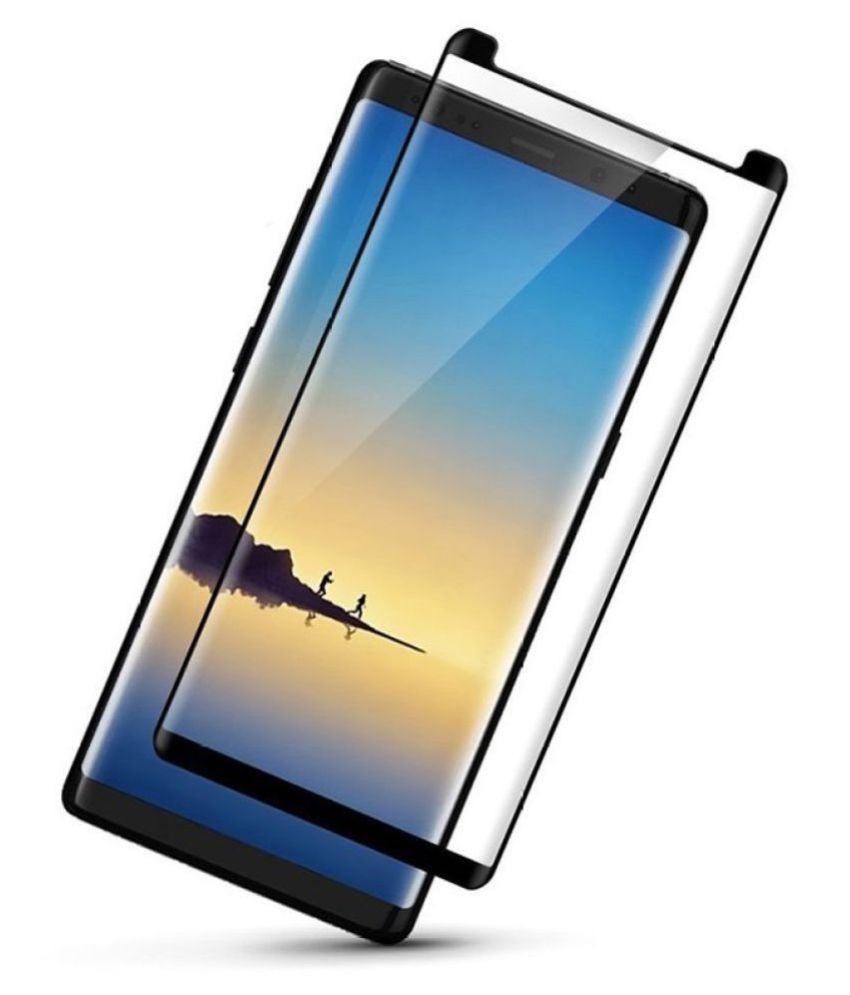 Samsung Galaxy Note 8 Tempered Glass Screen Guard By lenmax UV Protection, Anti Reflection
