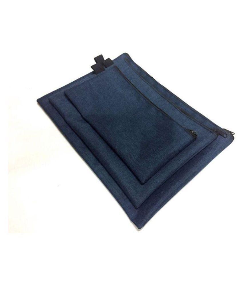 Linen Zipper Bag Set