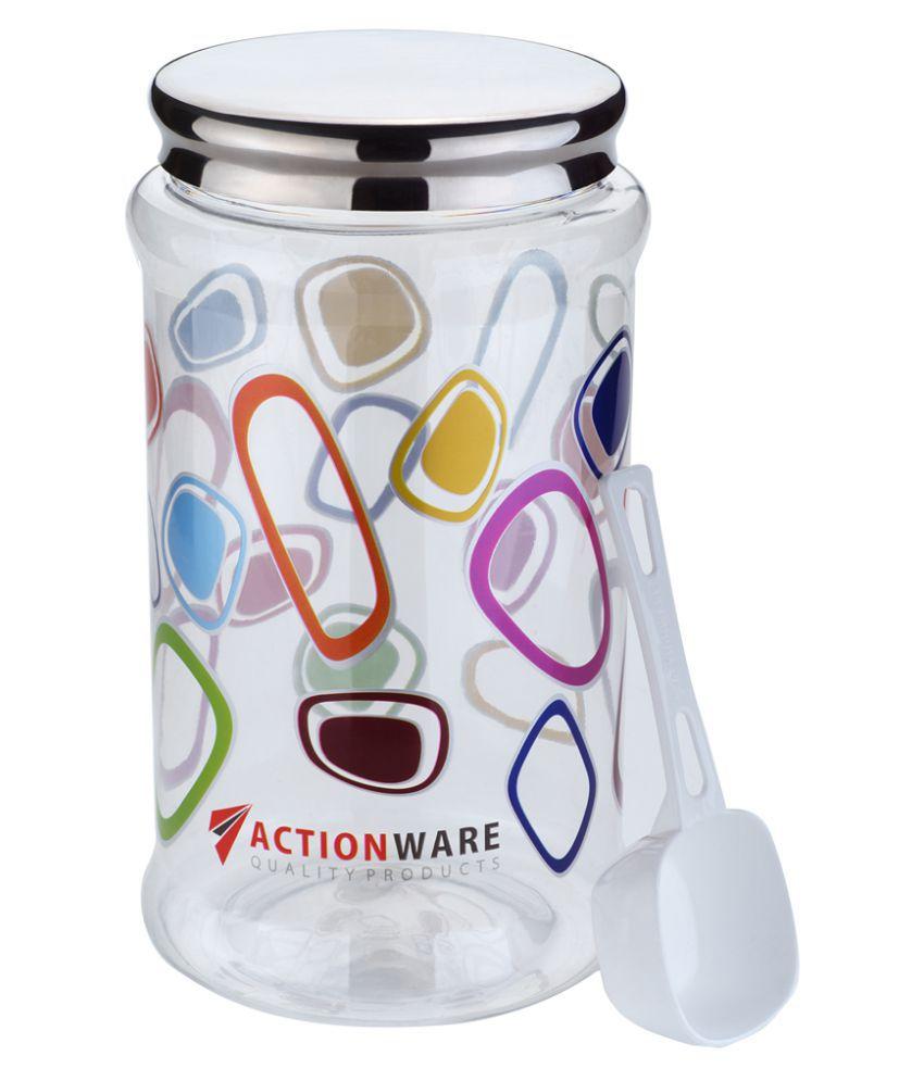 masvi enterprise duro pet jar (1 pcs) Polyproplene Food Container Set of 1 5000 mL