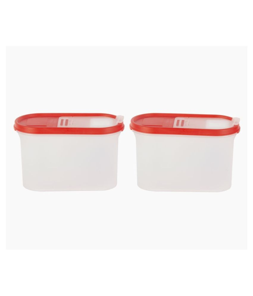 Cutting Edge Polyproplene Food Container Set of 2 2400 mL