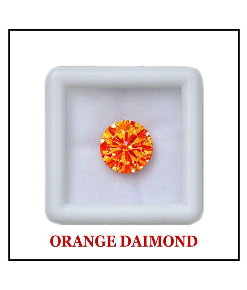 Maya Gems/6.25 Carat Original American Orange Diamond