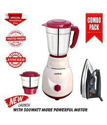 Activa PLUTO COMBO 500 Watt 2 Jar Mixer Grinder