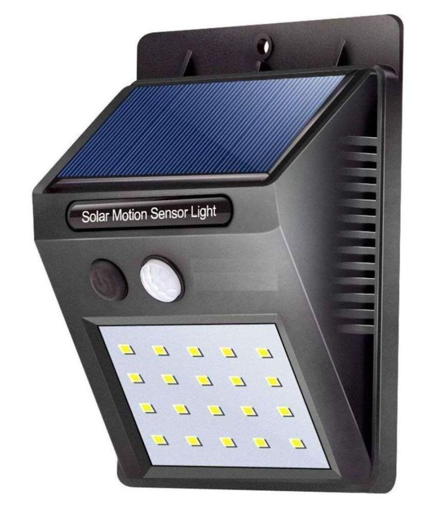 SHVAS 0.5W Solar Outdoor Wall Light - Pack of 1