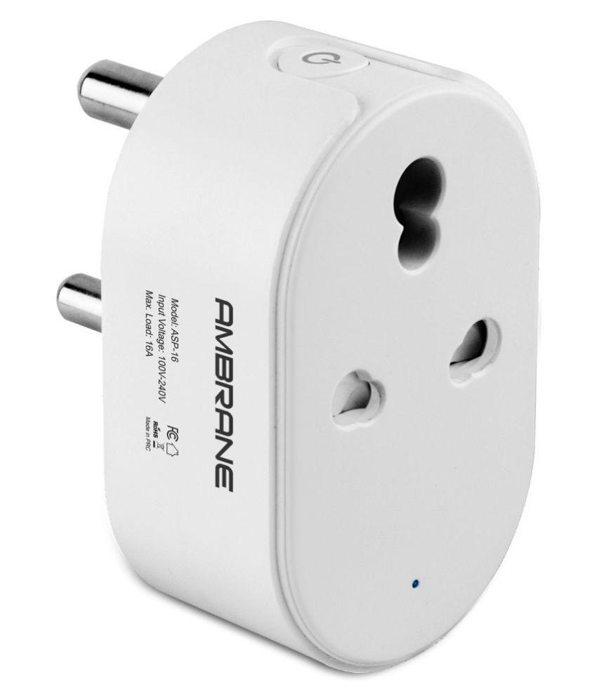 Ambrane ASP-16 Smart Plug & LED