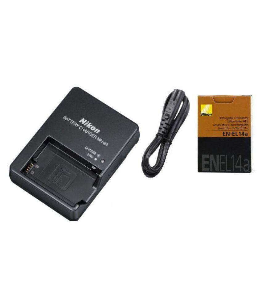 Nikon EN EL14A Camera Battery Charger