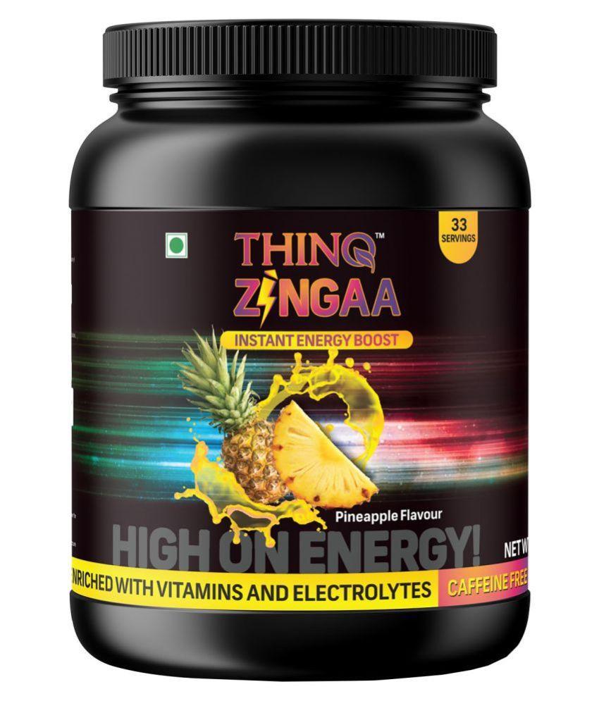 Thinq  Pharma Zingaa Energy Boost Energy Drink for All 1 kg