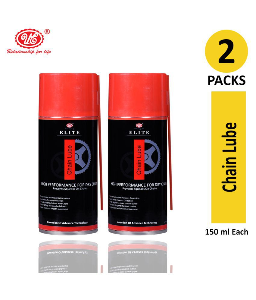 UE Elite Chain Lube Multi Utility Friction Spray For Lubricating Moving Parts- 150 ML (Pack of 2)
