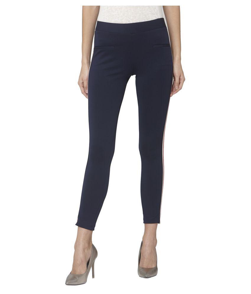 Smarty Pants Cotton Lycra Jeggings - Blue
