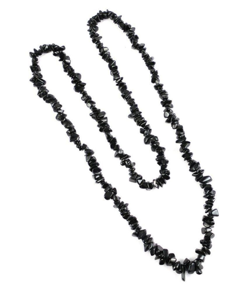 AIR9 Black Traditional Necklace