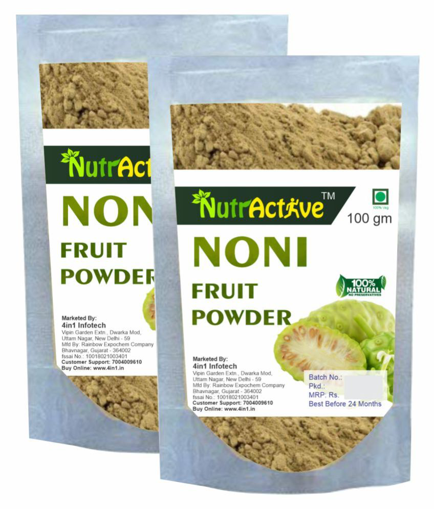 NutrActive Noni Fruit Powder 200 gm