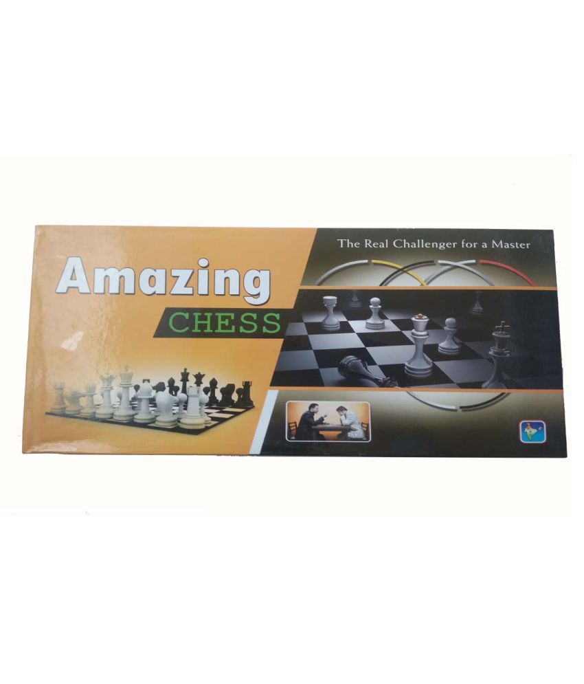 Amazing Plastic Black Chess 15 Inches