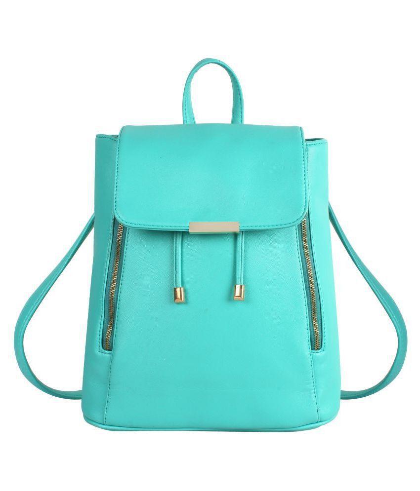 Lychee Bags Green School Bag for Girls