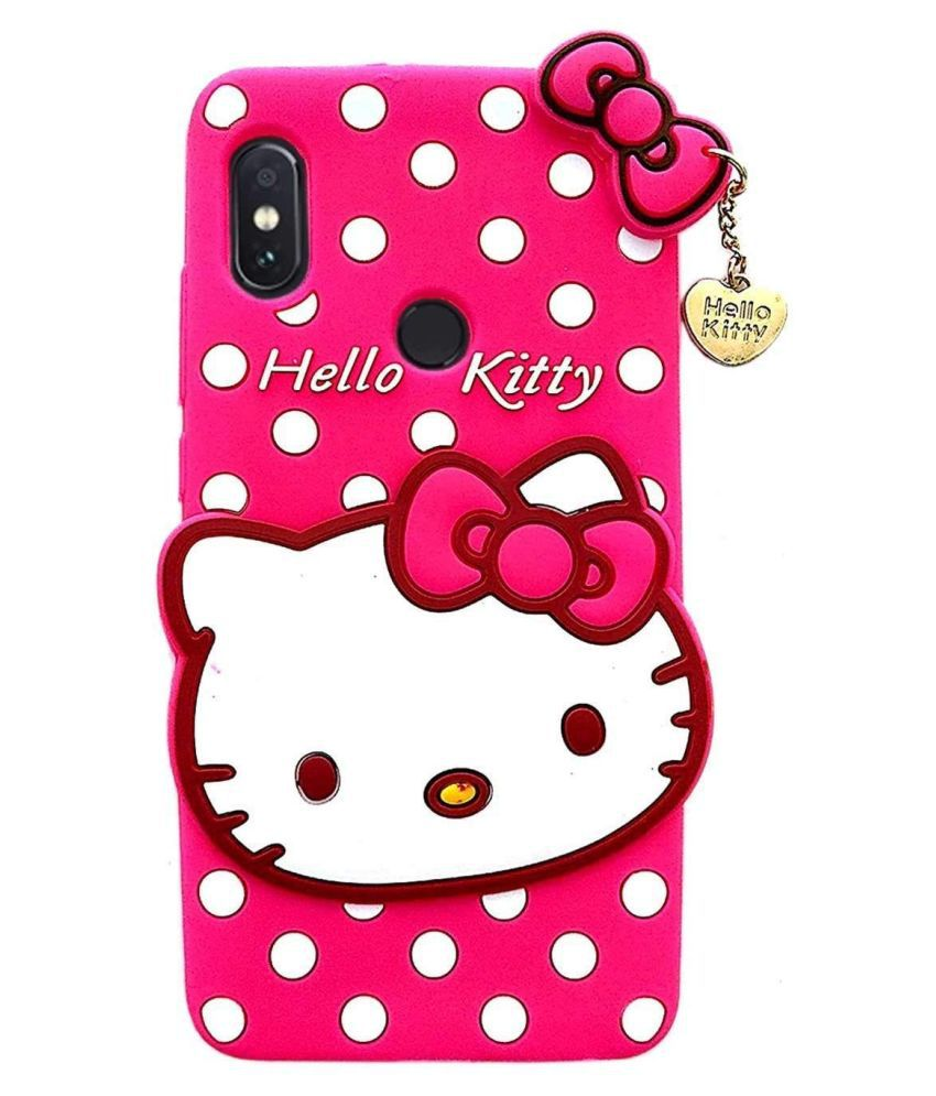 Xiaomi Redmi Note 7S Printed Cover By ClickAway Cute Hello Kitty Back Cover