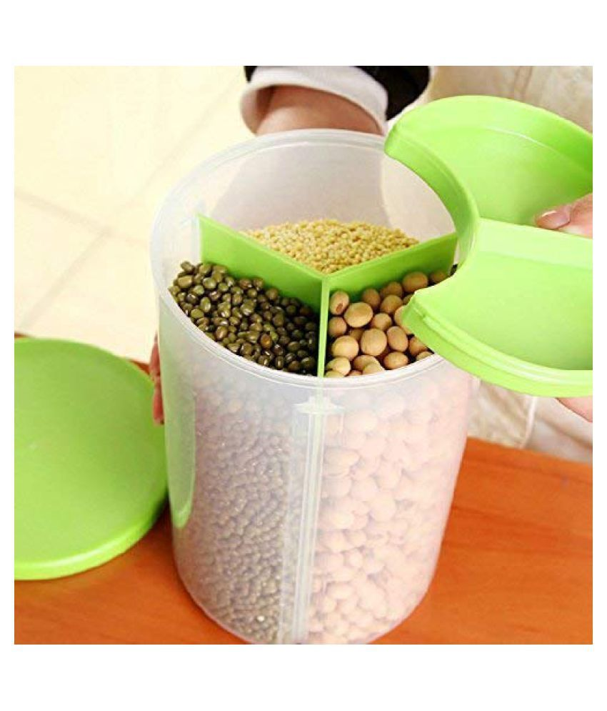 EZVISION Polycarbonate Spice Container Set of 1 950 mL