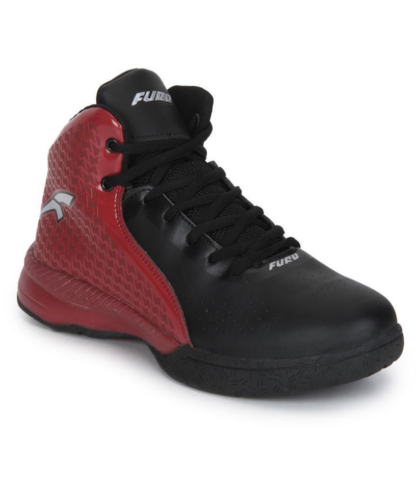 FURO By Red Chief B8000 Black Basketball Shoes